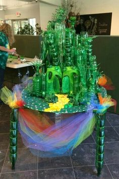 My Emerald City from plastic bottles