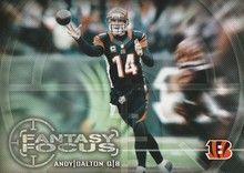 2014 Topps Fantasy Focus #FF-AD Andy Dalton, Cincinnati Bengals