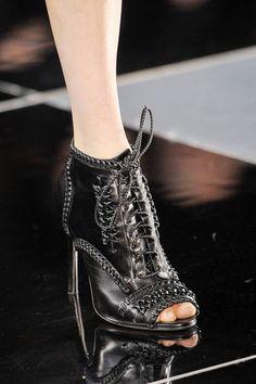 Those boots! Jason Wu Fall 2013 runway #NYFW