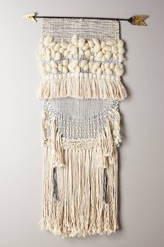 All Roads Design wall hanging for anthropologie.com