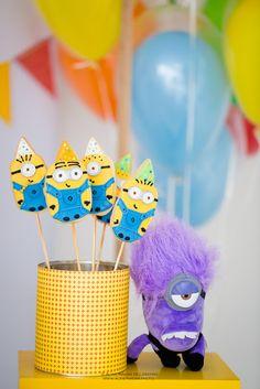 Encontrando Ideias: Festa Minions!!