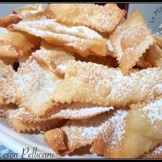 Vegan Cake, Vegan Desserts, Vegan Recipes, Beignets, Italian Dishes, Italian Recipes, Crostoli Recipe, Vegan Gains, Eggplant Dishes