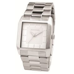 Men's Fashion Watch Cool Watches, Watches For Men, Estilo Retro, Square Watch, Fashion Watches, Mens Fashion, Cool Stuff, Accessories, Brand Name Watches