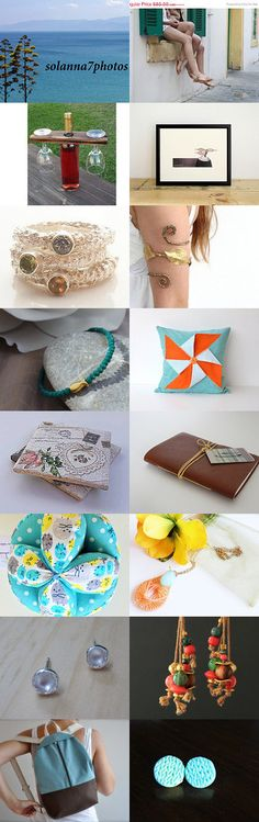 Chillin' out, Cyprus style... by Maria Kasioni on Etsy--Pinned with TreasuryPin.com