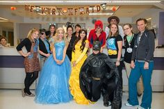 Holy Smokes Batman! We were thrilled to have a group from Royal Princess Parties of Colorado come and surprise our pediatric patients for #Halloween. The kids loved spending some time with their favorite #princesses and #superheroes. #MorgridgeAcademy #NationalJewishHealth