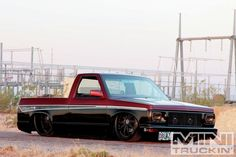Check out a 1994 Chevy that once cruised the road as a Chevy Blazer. See how Ron Perkins Deblazed this Chevy to make one killer pickup, with a custom interior you have to see to believe. Bagged Trucks, Dually Trucks, Toyota Trucks, Mini Trucks, Gm Trucks, Chevrolet Trucks, Cool Trucks, Pickup Trucks, Custom Trucks