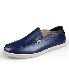 Men's Shoes Comfort Flat Heel Leather Loafers Casual Shoes More Colors available – CAD $ 54.39