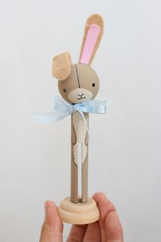Hey, I found this really awesome Etsy listing at https://www.etsy.com/listing/199651456/the-velveteen-rabbit-clothespin-doll