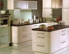 functional kitchen | Small Kitchen Design Ideas | Kitchen Appliance Reviews Love the rounded corners on cabinets.