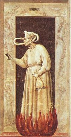 Envy - Giotto  1306  Scrovegni (Arena) Chapel, Padua, Italy
