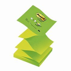3M Green Post-It Notes 76 x 76mm R330NAG Sticky Pads, Office Supplies, Notes, Green, Report Cards, Notebook