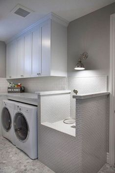 """Explore our internet site for more relevant information on """"laundry room storage. Explore our internet site for more relevant information on """"laundry room storage diy"""". It is an exceptional spot to learn more. Modern Laundry Rooms, Laundry Room Layouts, Laundry Room Remodel, Laundry Room Cabinets, Basement Laundry, Farmhouse Laundry Room, Laundry Room Organization, Laundry Room Design, Diy Cabinets"""