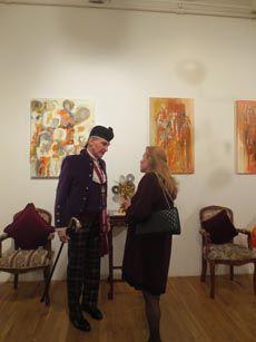 "Amsterdam Whitney Gallery ""Moulin Rouge - Thanksgiving Cornucopia"" Soiree! November 2 - December 4, 2012 Exhibition"