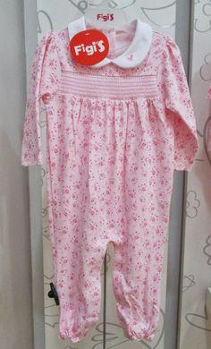 Pijama floral en cien por ciento algodón. | Figi's