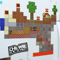 My husband loves this computer game. I want to get these Minecraft magnets for him. :) $19.99