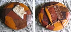 LARP Leather shield by ~wulvi on deviantART