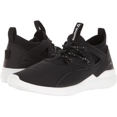 Reebok Upurtempo 1.0 (Black/White) Women's Cross Training Shoes (1.580.305 VND) ❤ liked on Polyvore featuring shoes, athletic shoes, reebok, shock absorbing shoes, black white shoes, cross training shoes and crosstraining shoes