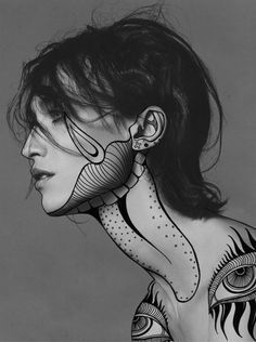 drawing over photographs - Google Search