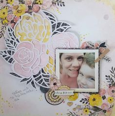 Hello BoBunny friends,   Amy  with you today showing you how to create a gorgeous layout using the fabulous Petal Lane collection. And th...
