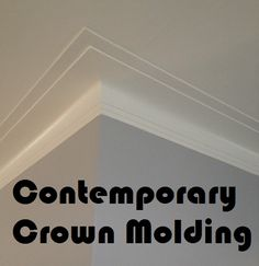 37 Best Modern Crown Molding Images