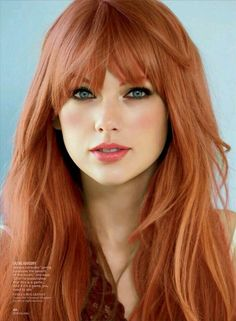 Keep your Strawberry Blonde more strawberry and less blonde with Monat. Bangs for days::
