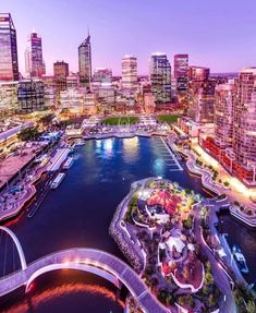 My beautiful home city of Perth Western Australia. Looking out over Elizabeth Quay and the CBD. Australian Photography, Travel Journal Scrapbook, Perth Western Australia, Interesting Buildings, Travel And Leisure, Dream Vacations, Beautiful Homes, Bali, Places To Go