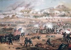 The Union Attack on Marye's Heights During the Battle
