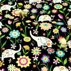 Buy cotton fabric - multicolour Zoo Fat Quarter FQ £3.49 | My Fabric House