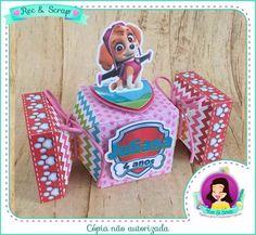Caixa bala Patrulha Canina | Rec&Scrap Papelaria Personalizada | Elo7