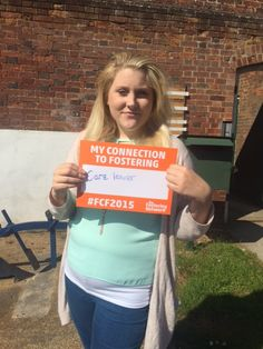 Deanna - care leaver #FCF2015 Foster Care, The Fosters, Campaign, T Shirts For Women, How To Make