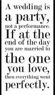 Just a little something to remember when the stress kicks in! | Weddings, Fun Stuff | Wedding Forums | WeddingWire