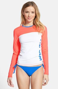 648dbeea0ddaf Volcom Long Sleeve Colorblock Rashguard available at  Nordstrom