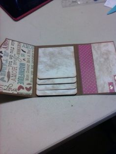 Office Supplies, Cricut, Notebook, Amor, Paper Crafts, Paper Envelopes, Projects, Exercise Book, The Notebook