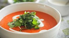 Roasted Red Pepper Soup   Veganuary