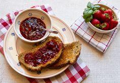 Strawberry Basil Jam - new canning idea