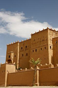 Kasbah in Ouarzazate, Morocco
