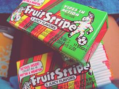 Loved this gum, but hated that it ran out of flavor quick...haha