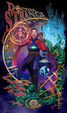 Marvel Comics, Marvel Fanart, Marvel Comic Books, Marvel Heroes, Marvel Avengers, Marvel Universe, Doctor Strange Benedict Cumberbatch, Dr Strange, Doctor Strange Comic