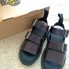 #DrMartens Sandals Shared on Instagram by miyuchimm