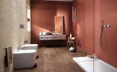 KÚPEĽŇA - Dizajn plánovanej kúpeľne / BENEVA Contemporary Interior Design, Bathroom Interior Design, Interior Balcony, Upstairs Bathrooms, Master Bathroom, Dream Bath, Ceramic Wall Tiles, Color Tile, Decorating Your Home
