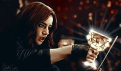 Clary Fray and the Mortal Cup #TheMortalInstruments #CityOfBones