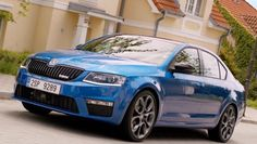 Skoda Octavia vRS is just the thing for your pumped-up neighborhood
