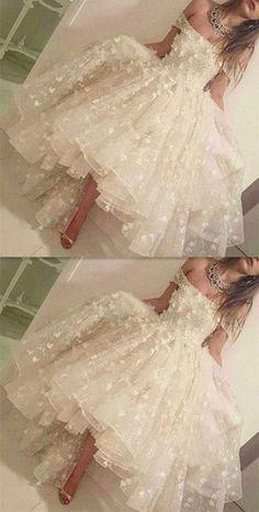 Off the shoulder Prom Dresses, Princess Prom Dress,Long Prom Dresses, Flowers Prom Dresses, Ball Gown Prom Dress, Formal Women Dress,prom dress