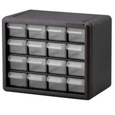 Akro-Mils, 16 Drawer Small Parts Storage Cabinet, 10116 at The Home Depot - Mobile
