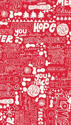 Free December 2013 Phone Wallpapers by Matt Wilson for Studio Calico