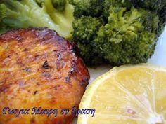 Μπιφτέκια κοτόπουλο - Γιαγιά Μαίρη Εν Δράσει Cookbook Recipes, Cooking Recipes, Chicken Recipes, Pork, Food And Drink, Sweets, Meat, Crafts, Kale Stir Fry