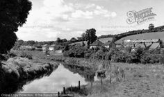 Tresillian, View From The Bridge c.1955, from Francis Frith