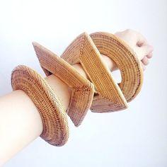 lou zeldis basket bracelets