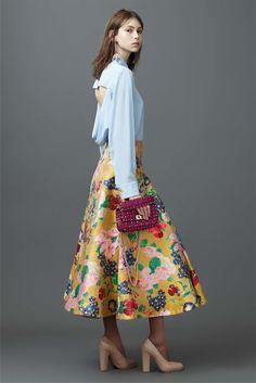 New York fashion week. Favorite looks. Stylish skirts.