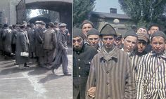 The colour of darkness: Never before seen photographs show the liberation of Dachau, the first of the Nazis' concentration camps